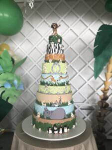 """Детский торт в стиле """"Мадагаскар"""""""