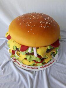 """Праздничный торт """"Чизбургер"""""""