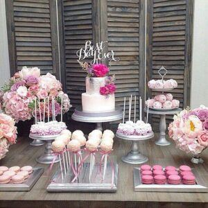 Кенди бар в розовых тонах