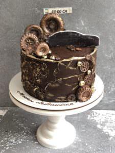 Мужской торт в автомобильной тематике